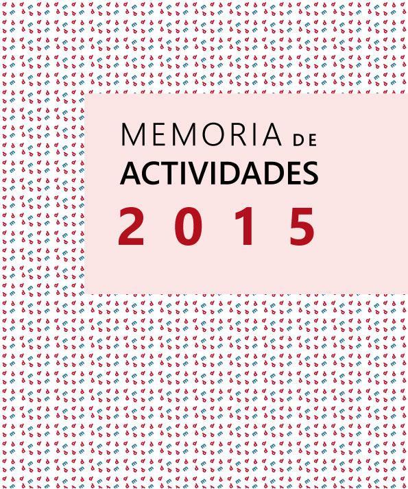 Memoria de Actividades y económica de DMD 2015