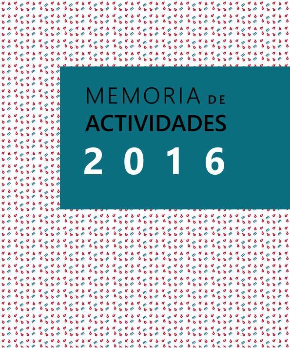 Descarga Memoria de actividades y económica de DMD 2016