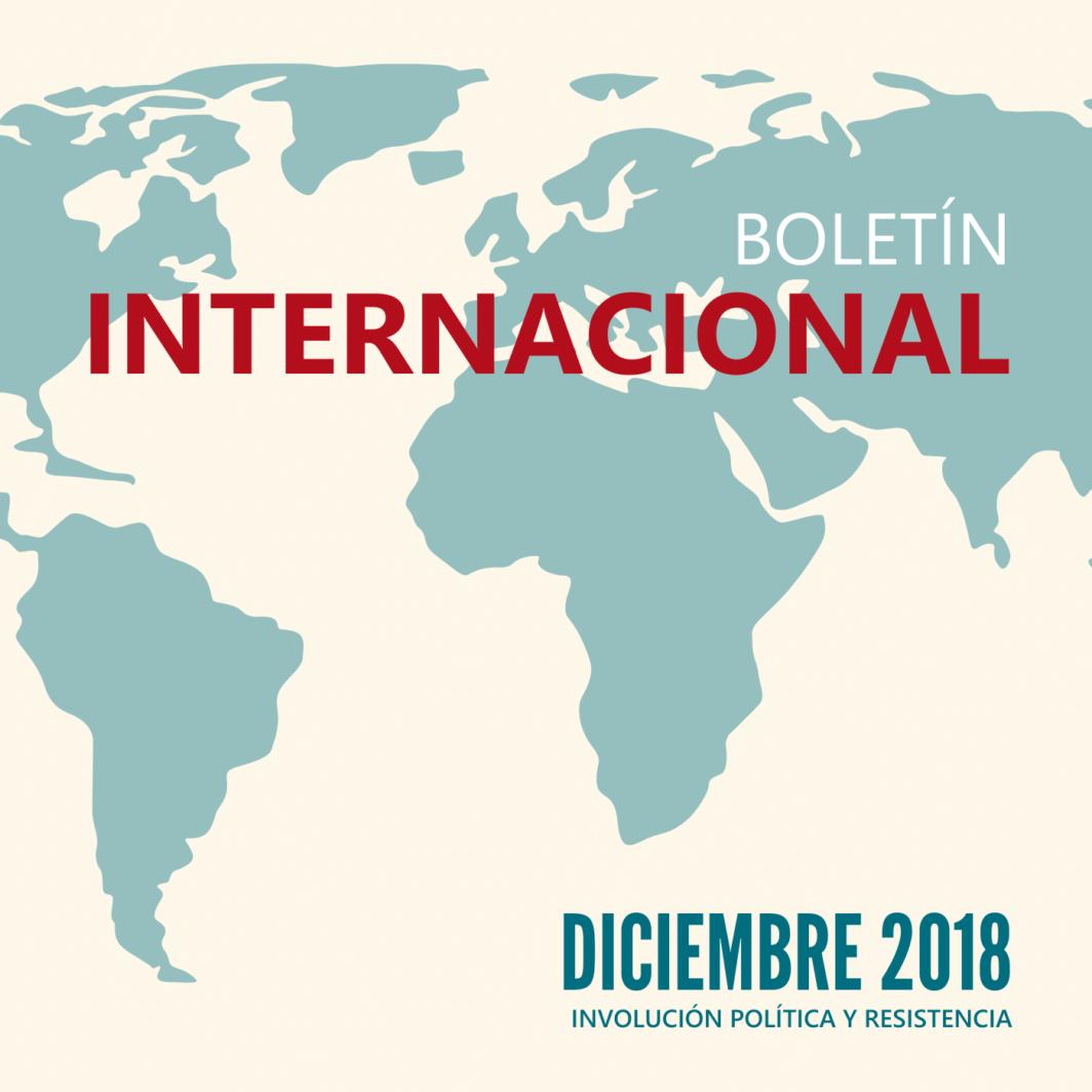 Boletín Internacional - Involución política y resistencia