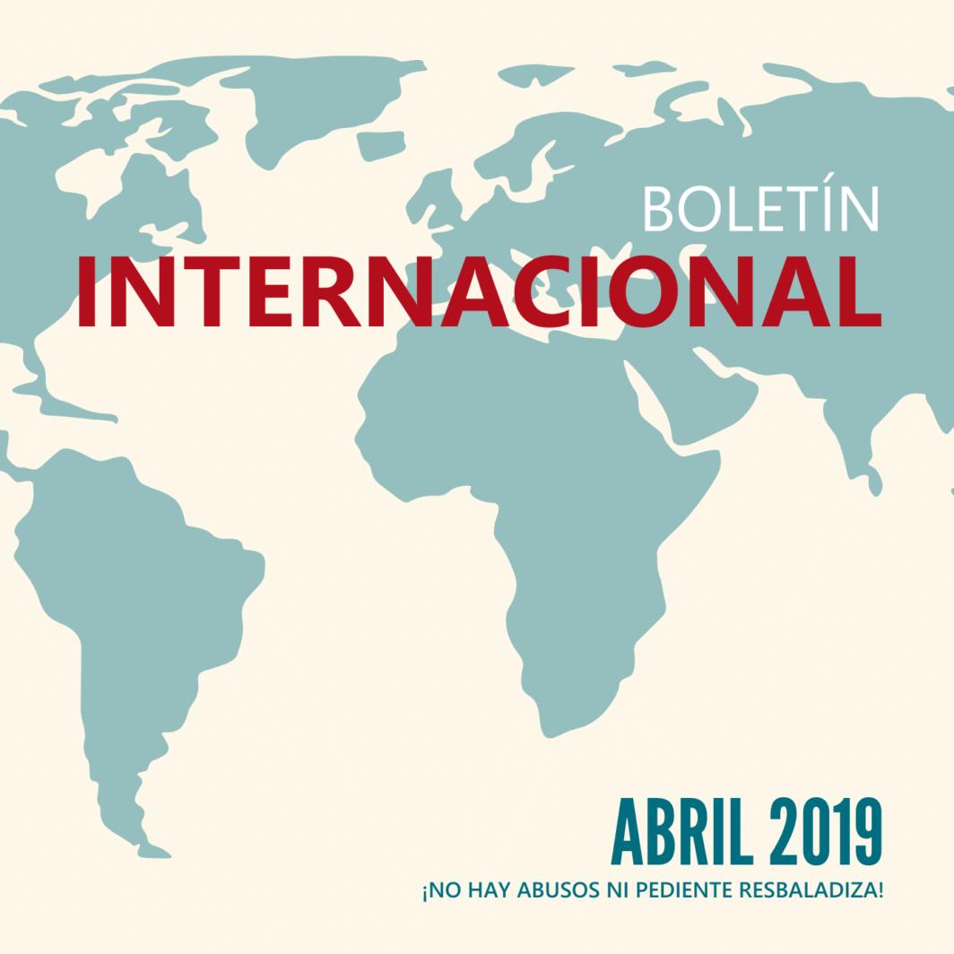 Boletín internacional - No hay abusos ni pendiente resbaladiza