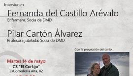 Cartel charla disponibilidad de la propia vida en Oviedo