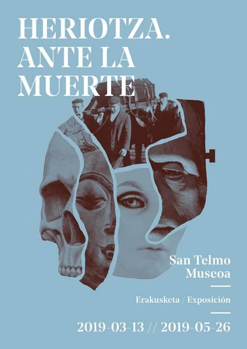 Cartel charla en San Telmo Museoa