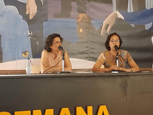 Fernanda del Castillo en la Semana Negra de Gijón