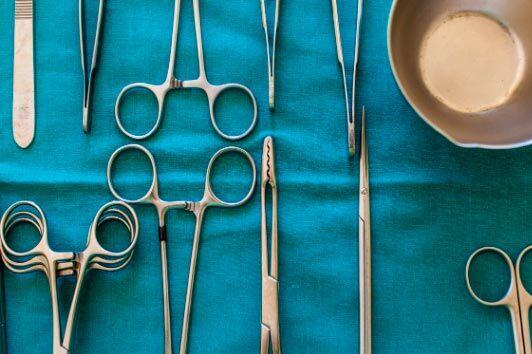 Tijeras quirúrjicas