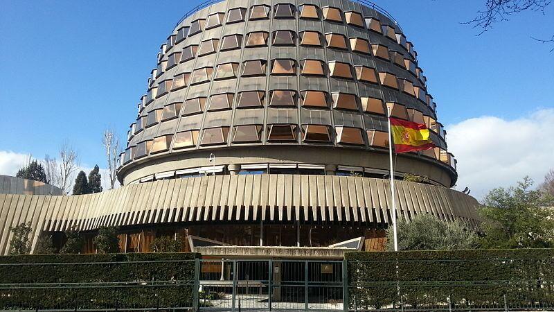 Foto del edificio del Tribunal Constitucional