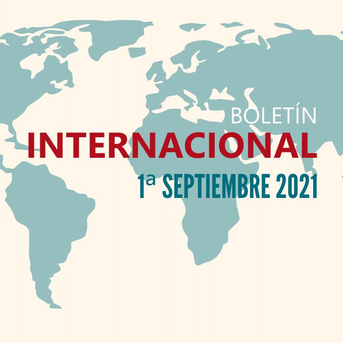 Revista de prensa internacional de la 1ª quincena de septiembre de 2021